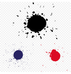 Blot on a transparent background vector