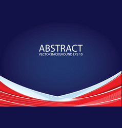 abstract red and blue background vector image