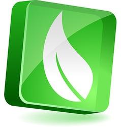 Eco Icon vector image
