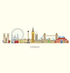 London skyline 7 vector