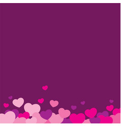 love love background design vector image