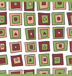 seamless abstract simple pattern vector image