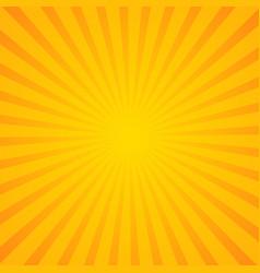 sunburst background orange background with radial vector image