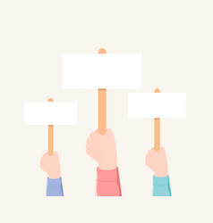 voting demonstration minting concept vector image