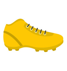 football or soccer shoe icon isolated vector image
