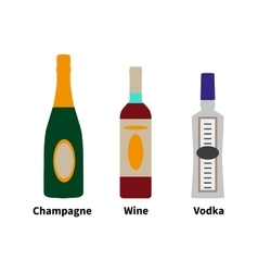 strong drinks vector image