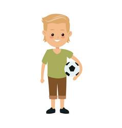 cartoon boy kid son family image vector image vector image