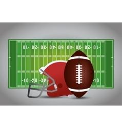 American football sport design vector image