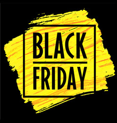 banner template black friday 2018 eps trend vector image