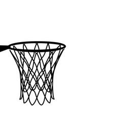 Basketball basket basketball hoop basketball net vector