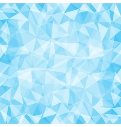 Blue low poly background vector image