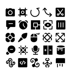 Design and development icons 12 vector