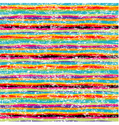 grunge colorful background with stripes vector image