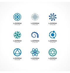 Set of icon design elements vector