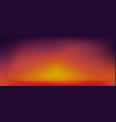 Sunset gradient background vector