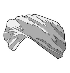 turban vector image