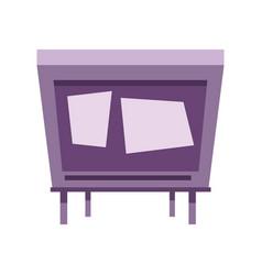 tv vintage design vector image