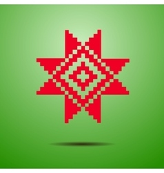 Belarusian national ornament vector image