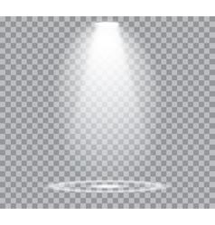 Spotlights Scene vector image