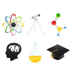 science icon2 vector image