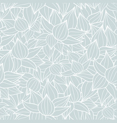 succulent plant texture drawing seamless vector image