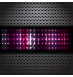 black texture background vector image vector image