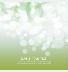 abstract bokeh background with space for text vector image