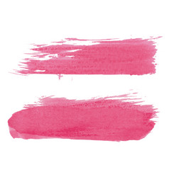 abstract watercolor brush set vector image