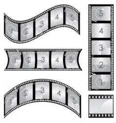 set of film vector image vector image
