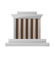 Building and mausoleum sign vector