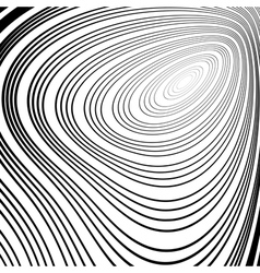 Design monochrome ellipse movement background vector