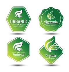 Eco label 9 vector