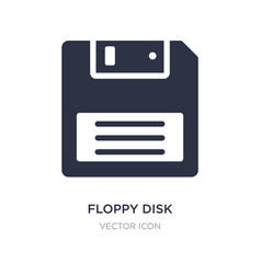 Floppy disk upside down icon on white background vector