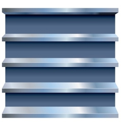 Metal Shelves vector