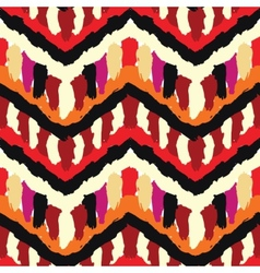 Painted Ethnic Pattern vector image