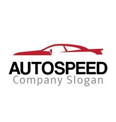Auto Speed Design vector image