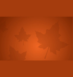 Background with maple thanksgiving theme vector