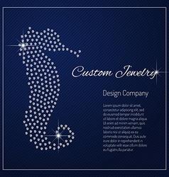 Diamond branding identity vector image