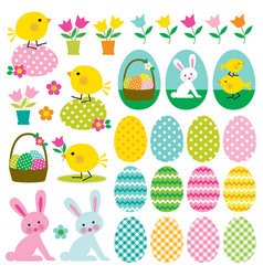 Easter clipart graphics vector