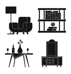 isolated object equipment and household sign vector image