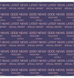 Latest news seamless pattern vector