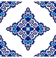 Seamless damask pattern ornament for fabric vector