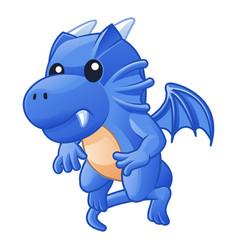the junior dragon vector image