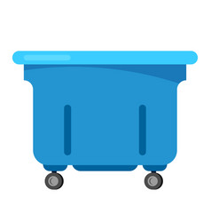 Trashcan bin recycle electronic waste vector