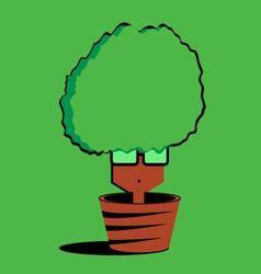 tree man vector image
