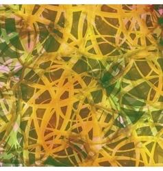 Abstract Background Tangled Leaves Irish Batik vector image vector image