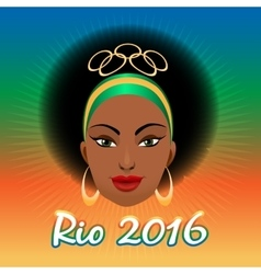 Rio Olympic Games Emblem vector image vector image