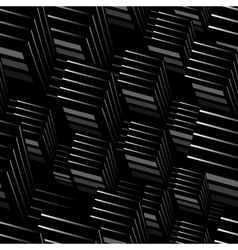 Abstract 3d seamless vector image vector image
