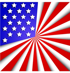 usa flag background Eps10 vector image vector image