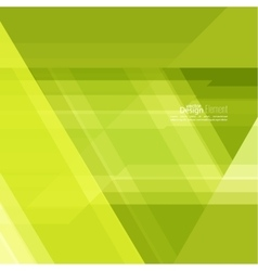 Abstract background with green stripes vector